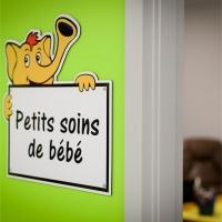La salle des petits soins de bébé