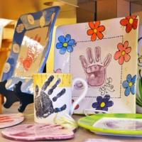 L'atelier de peinture sur céramique