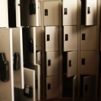 Les vestiaires et casiers