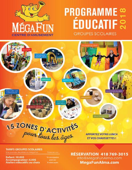 Programme éducatif 2018